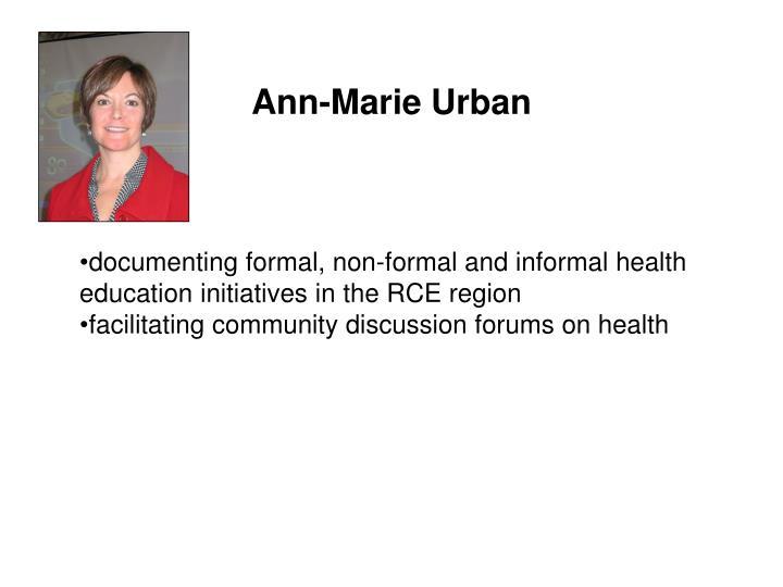 Ann-Marie Urban