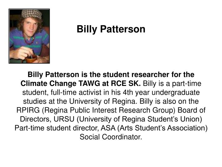 Billy Patterson