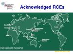 acknowledged rces