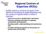 regional centres of expertise rces