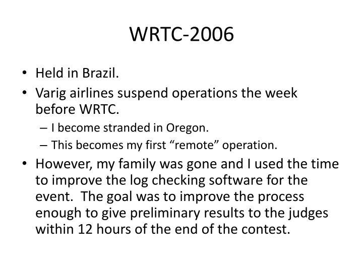 WRTC-2006