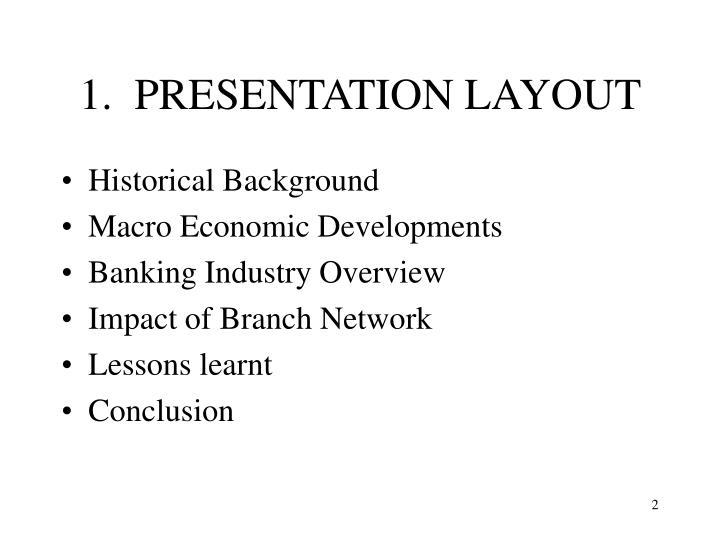 1 presentation layout
