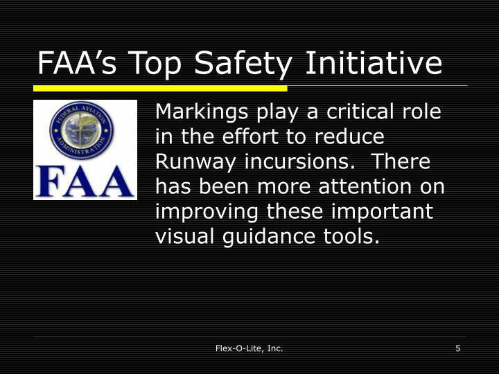 FAA's Top Safety Initiative