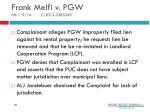 frank melfi v pgw pm 1 9 14 c 2013 2385249