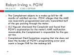 robyn irving v pgw pm 2 6 14 c 2011 2279259