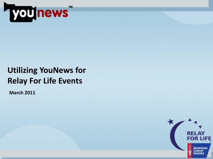 Utilizing YouNews for