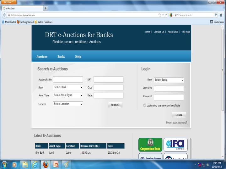 E auction