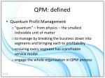 qpm defined
