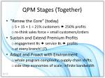qpm stages together