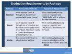graduatio n requirements by pathway