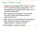 equity valuation contd1