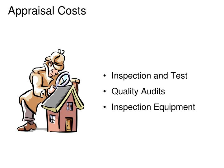 Appraisal Costs