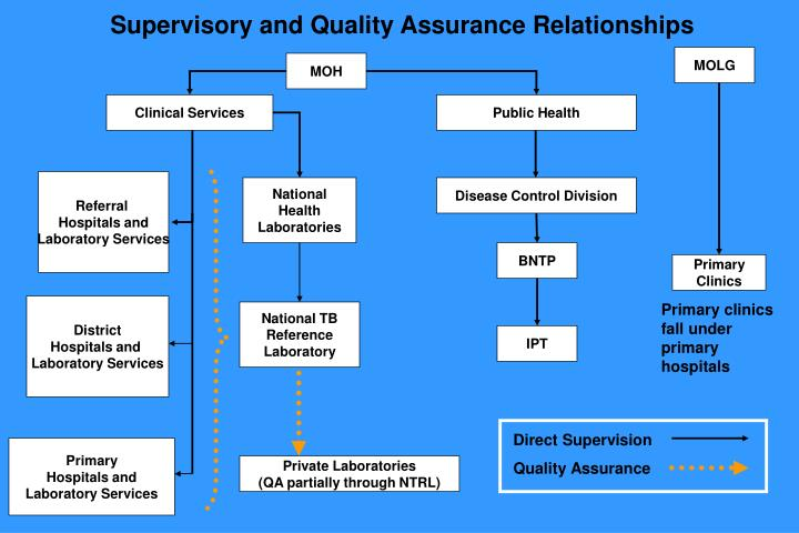 Supervisory and Quality Assurance Relationships