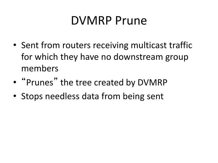 DVMRP Prune