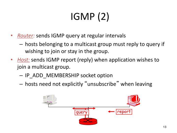 IGMP (2)