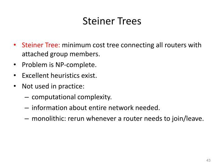 Steiner Trees