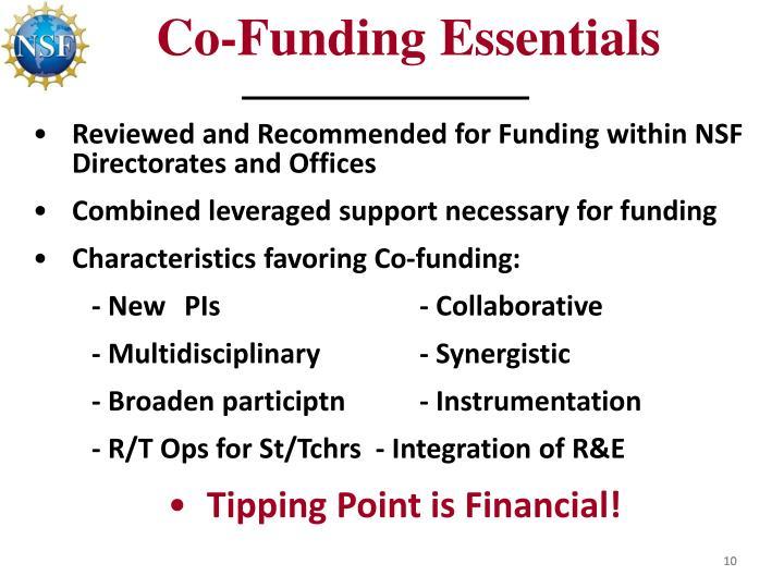 Co-Funding Essentials