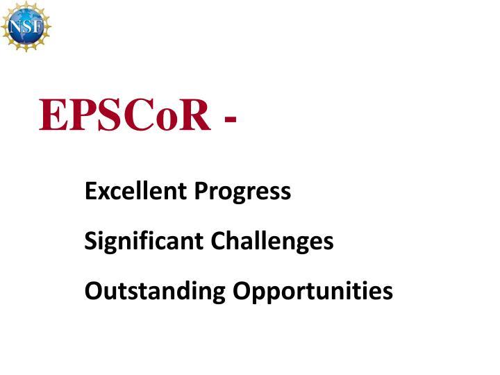 EPSCoR -