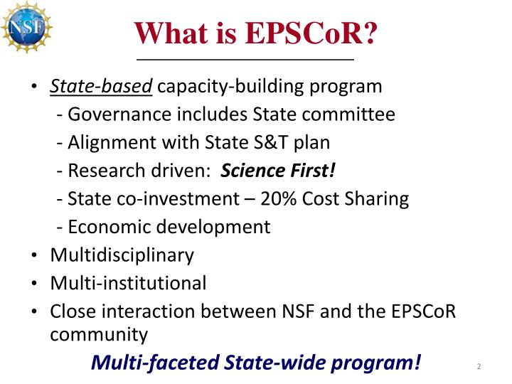 What is epscor