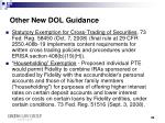 other new dol guidance3