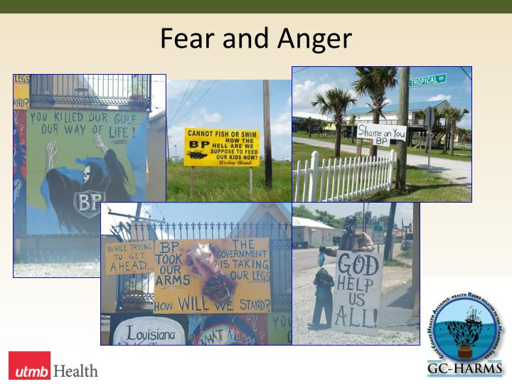 Fear and Anger