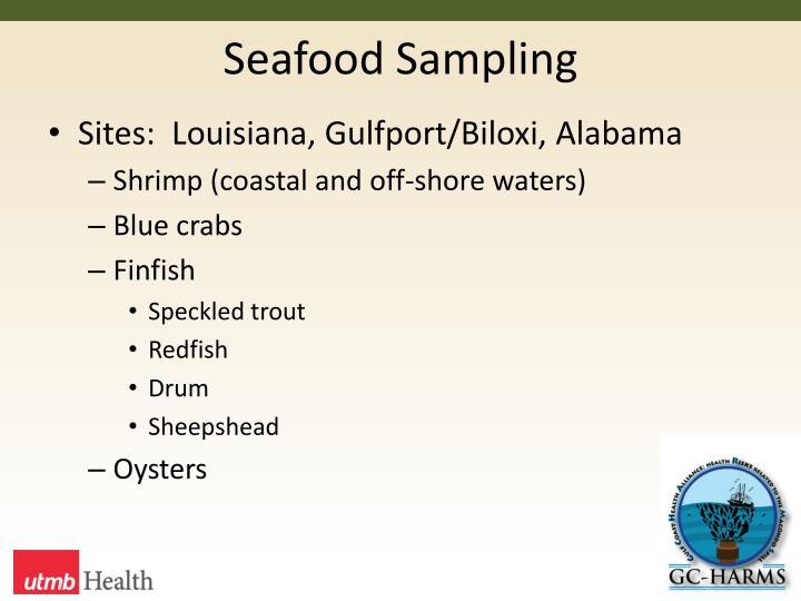 Seafood Sampling