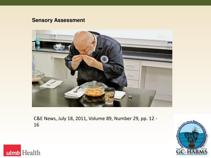 Sensory Assessment