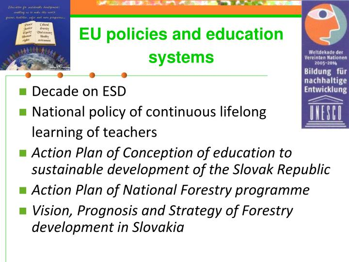 EU policies and education systems