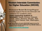 western interstate commission for higher education wiche