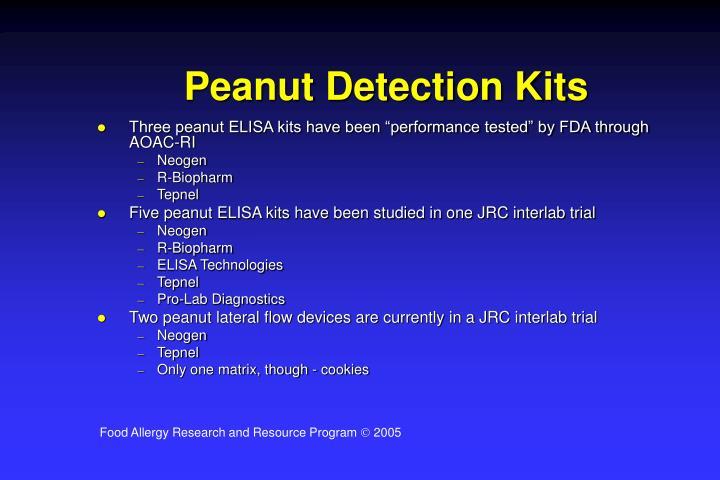 Peanut Detection Kits