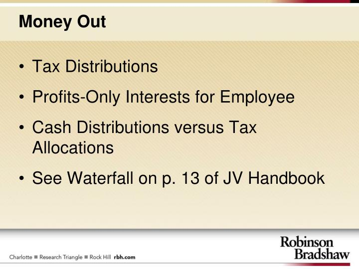 Tax Distributions