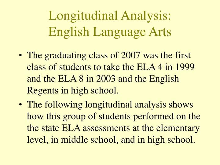 Longitudinal Analysis: