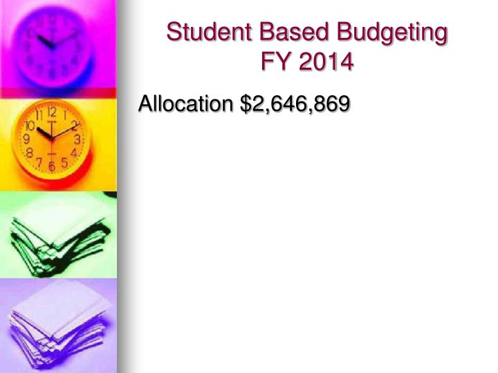 Student Based Budgeting