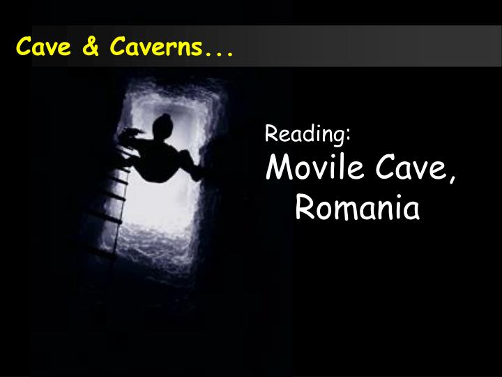 Cave & Caverns...