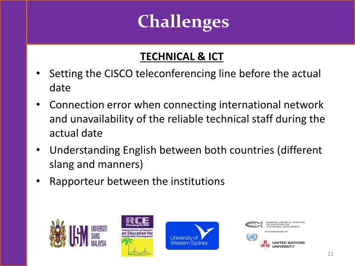 TECHNICAL & ICT