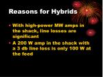 reasons for hybrids1