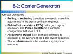 8 2 carrier generators4