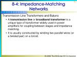 8 4 impedance matching networks13