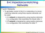 8 4 impedance matching networks6