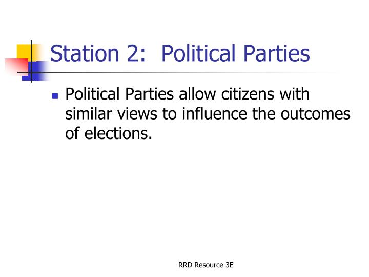 Station 2 political parties
