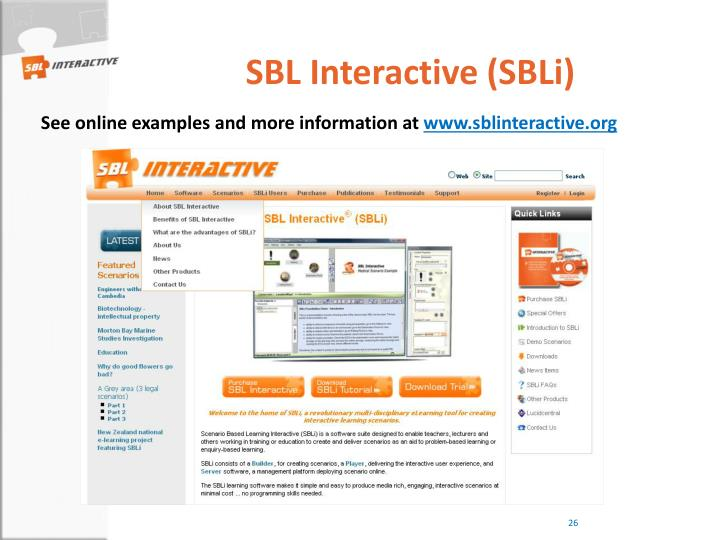 SBL Interactive (SBLi)