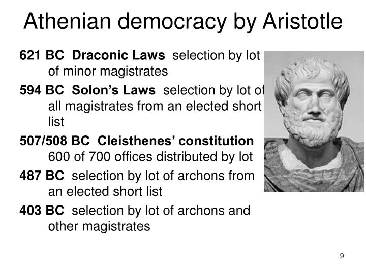 Athenian democracy by Aristotle