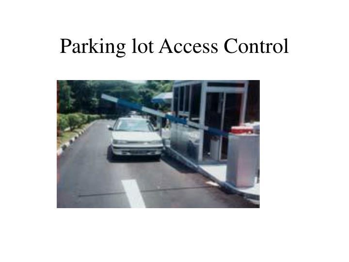 Parking lot Access Control
