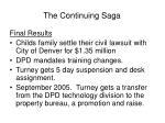 the continuing saga3