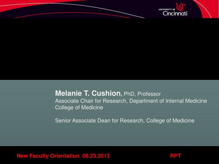 Melanie T. Cushion