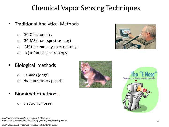 Chemical Vapor Sensing Techniques