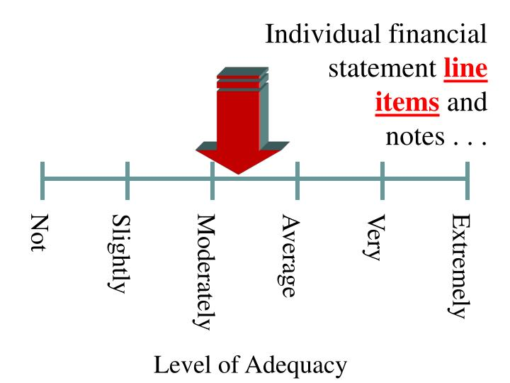 Individual financial statement