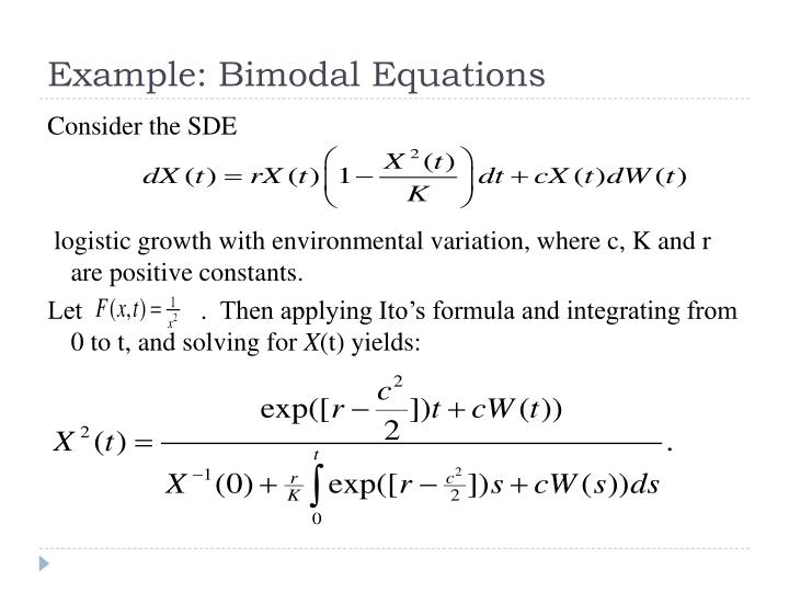 Example: Bimodal Equations