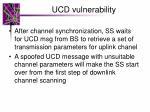ucd vulnerability