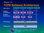 version 1 0 tcpa software architecture
